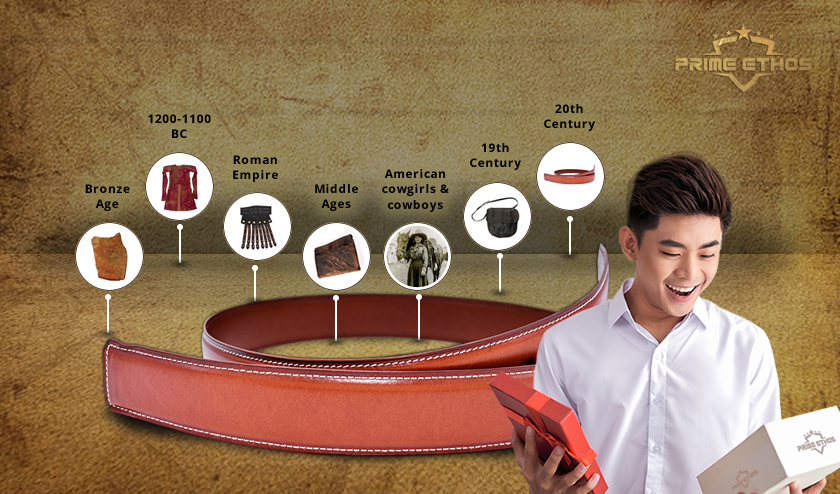 A Quick History Lesson on Men's Leather Belt