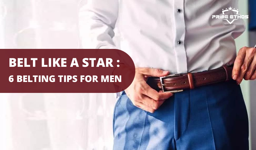 belt styling tips for men